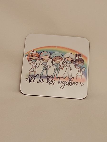 All In This Together Coaster